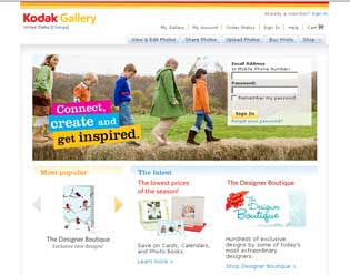 Review the best sites to post your photos online - Kodak